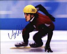 Apolo Ohno authentic signed skating 8x10 photo W/Certificate Autographed (A0001)