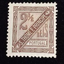 1894 St Thomas and Prince Islands Unused