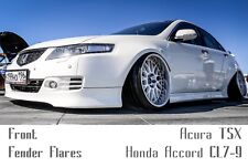 Honda Accord CL7-9 ( Acura TSX ) front Fender Flares