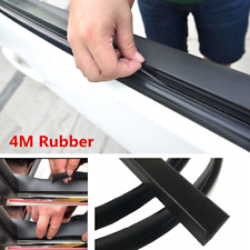 4M Car Door Window Trim Edge Moulding Rubber Noise Weatherstrip Seal Strip Black