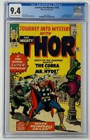 Journey Into Mystery #105 CGC 9.4 Marvel 1964. Expaded Thor Stories Begin.