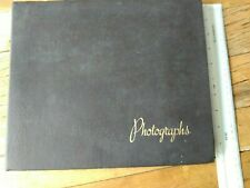 More details for vintage photograph album. ships and towing. 1950s/60s. battleship minas gerais