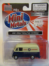 Classic Metal Works USA 1:87 International Metro Van Civil Defense
