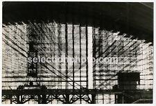 Photo Travaux CNIT Paris P. LETELLIER (Match) Tirage Argentique 1958 -  27x40cm