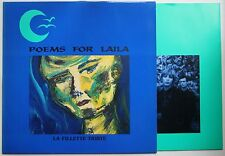 Poems For Laila La Fillette Triste Orig 1991 LP + Innerbag