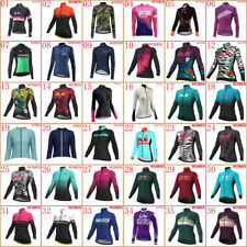Womens Cycling jerseys Autumn long sleeve bike shirt bicycle tops Sports Uniform