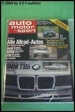 AMS Auto Motor Sport 23/86 * BMW 735i Porsche 928 S4 Mazda 323 Turbo 4 WD