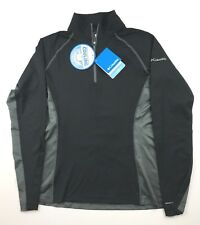 Columbia Womens Small Freeze Degree lll Black Gray Lightweight Pullover Jacket