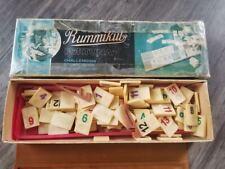 VINTAGE Rummikub Made In Israel 1960's Rummy Game