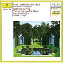 CD de musique piano Sebastian Bach