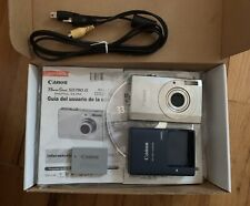 CANON PowerShot Digital ELPH SD790 IS Silver 10.0 MP Parts or Repair Accessories