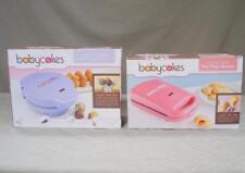 2 Babycakes Cakes Machines - Cake Pop Maker + Pie Pop Maker with Orig Boxes