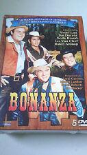 """DVD """"BONANZA"""" PRECINTADO NUEVO 5DVD LAS MEJORES AVENTURAS DE LOS CARTWEIGHT"""