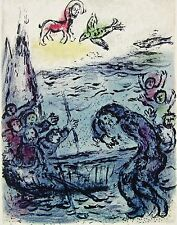 Ulysses & His Companions (The Odyessy), 1989 Limited Edition Litho, Marc Chagall