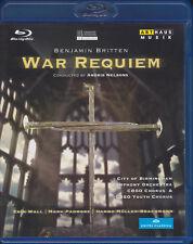 BRITTEN: WAR REQUIEM Erin Wall, Mark Padmore, Andris Nelsons, Blu-ray, wie neu