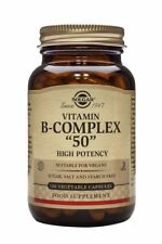 Solgar Formula Vitamin B Complex 50 Vegetable Capsules 100 Vegicaps