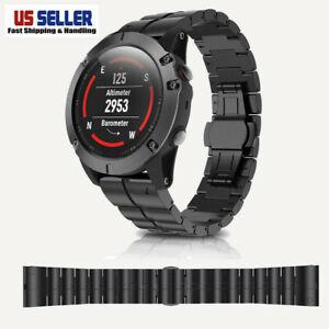 Titanium alloy 26mm Quick Release Watch Band Strap For Garmin Fenix 5X Watch