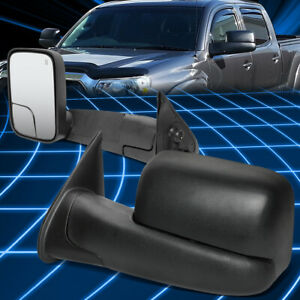 For 05-15 Toyota Tacoma Powered Adjustment+Heated Side Towing Mirror Left+Right
