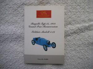 """1:18 CMC Bugatti Typ 35 Grand Prix (1924) """"Der Seriensieger"""" in OVP"""