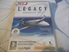 Legacy EXECUTIVE JET PC-DVD NUOVO SIGILLATO di espansione per simulatore di volo 2004 & FSX