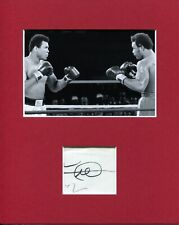 George Foreman Heavyweight Olympic Boxing HOF Signed Autograph Photo Display