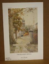 The Old Post Office Kentucky Artist Paul Sawyier Frankfort Library Street View