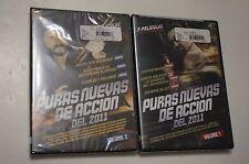 Brand New Sealed Puras Nuevas De Accion Del 2011 Volume 1 + 2 DVD Mexican