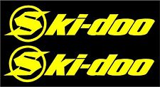 2X Slednecks Ski-doo BRP Decal Sticker Window Car Truck Snowmobile Snowboard