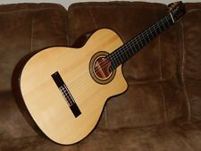 "HEAVENLY ""EL VITO"" MASTER S - LUTHIER MADE CLASSICAL CONCERT GUITAR WITH CUTAWAY"