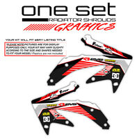 2004-2009 HONDA CRF 250R RADIATOR SHROUDS GRAPHICS KIT MOTOCROSS DECAL