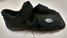 Darco Surgical Foot Brace Post Op Shoe Square Toe Black Medium Wide