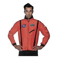 Orange Space Suit Top NASA Astronaut Halloween Costume Jacket Teen Adult Plus Sz