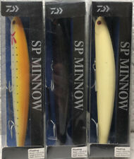 "(3) Daiwa SP Minnow Floating 1 1/9oz 6"" 3'+ Saltwater Jerkbait Good Colors"