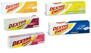 Dextro Energy Dextrose Glucose Fast Acting Tablets 47g Pack of 3, 6, 8, 12, 24