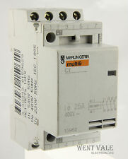 Merlin Gerin Multi 9 - 15962 - CT Four Pole 25a NO Contactor 240v Coil Used