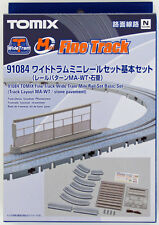 Tomix 91084 Wide Tram Mini Rail Oval Layout Set (Track Layout MA-WT) (N scale)