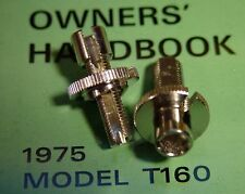 BSA, Norton, Triumph, OIF, TWO (2)  Brake & Clutch Cable Adjusters, FREE US SHIP