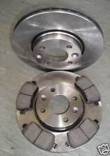 NOTE FRONT BRAKE DISCS AND PADS 1.4 1.5 1.6 E11 MODELS - NEW COATED DESIGN