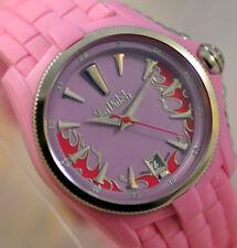 New Von Dutch Pink Angel Silicon Swiss Made Hot Watch  in box