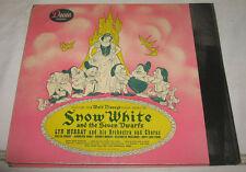 Vintage Decca Records: Walt Disney's Snow White & The Seven Dwarfs  Complet Set