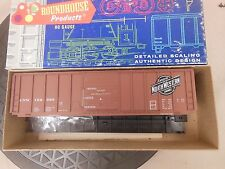HO SCALE ROUNDHOUSE 1905 C&NW PS RIBE SIDE 50' BOX CAR KIT NOS