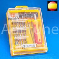 Kit destornillador de precision 32 en 1 herramientas electronica movil consola
