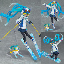 Figma EX-030 Hatsune Miku Snow Owl Version Anime Figure Max Factory Japan