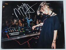 MIJA DJ SIGNED 11X14 PHOTOGRAPH W/COA EDM OWSLA SKRILLEX
