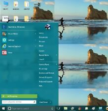 GET WINDOWS 7 STYLE START MENU BUTTON BACK ON DVD FOR WIN 8 8.1 10 32 & 64 BIT