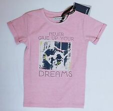 """BNWT """"MINYMO"""" GIRL STITCHED KITTEN PRINT TOP/T-SHIRT from DENMARK, AGE 7 YEARS"""
