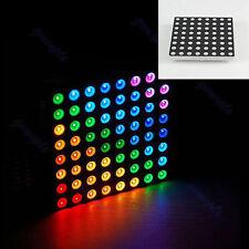 RGB LED Matrix 8x8 Full Common Anode Arduino Color Dot Square Display 60x60mm
