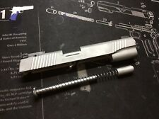 1911 45 Kimber Slide Assembly Stainless Adjustable Tritium Target Nightsights