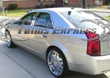 2002-2007 Cadillac CTS 6Pc Chrome Pillar Post Trim Stainless Steel Door Cover