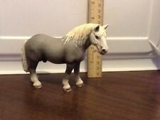 2006 Schleich Germany Gray & White Percheron Stallion Draft Horse